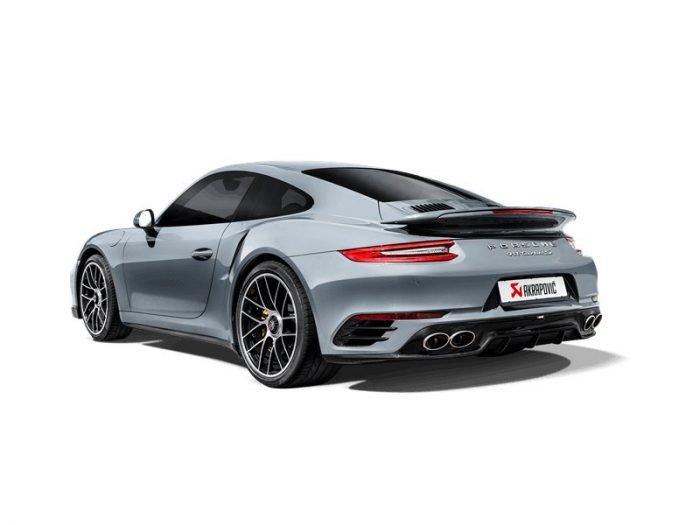 Akrapovic Slip-On Line titanium Porsche 991.2 Turbo