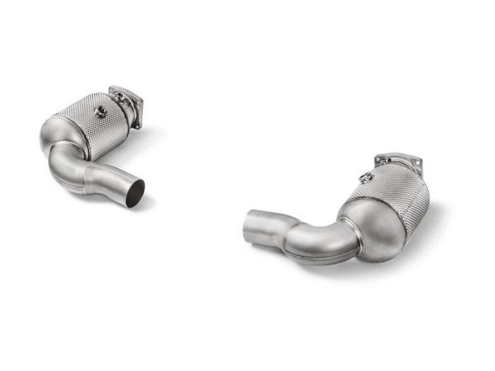 Akrapovic Link Pipe Set 991.2 Turbo