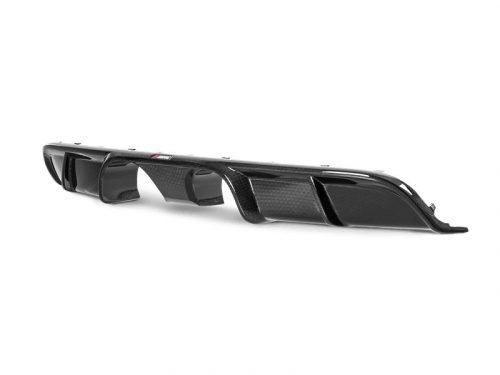 Akrapovic 991.2 Carrera carbon fiber rear diffuser - high gloss