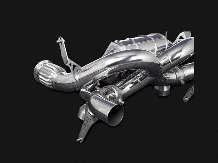 Capristo Lamborghini Huracan Performante exhaust