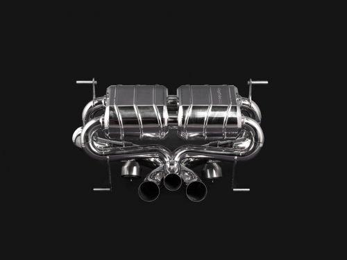 Capristo Lamborghini Aventador SV valved exhaust