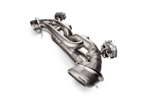 Akrapovic Slip-On Race Line Titanium Exhaust Porsche 911 Carrera 992 S-PO/TI/14