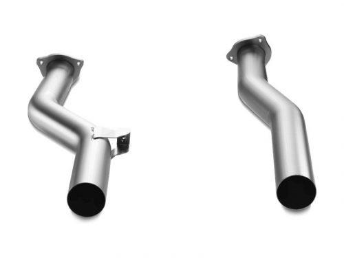 Akrapovic Porsche Cayenne Turbo 958 FL front link pipe set