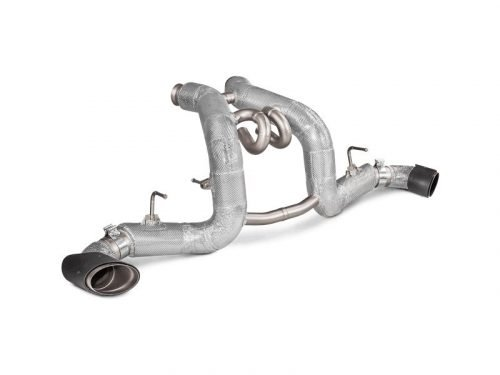 Akrapovic McLaren 570S/570GT titanium exhaust
