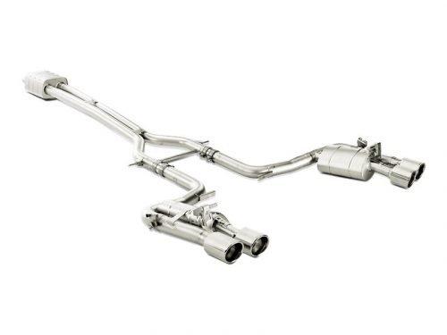 14-16 Akrapovic Panamera Turbo/S (970) titanium exhaust
