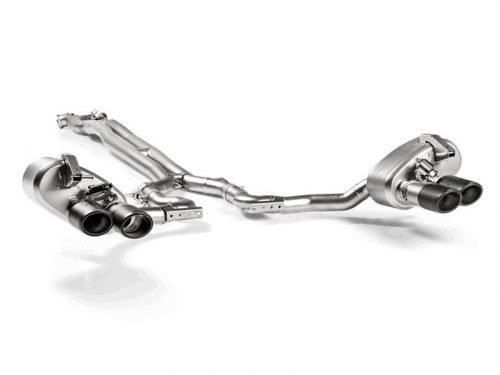 Akrapovic 971 Panamera Turbo titanium exhaust