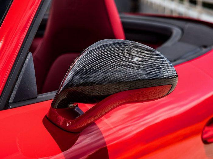 TECHART 991.2 911 Turbo carbon fiber mirror housing
