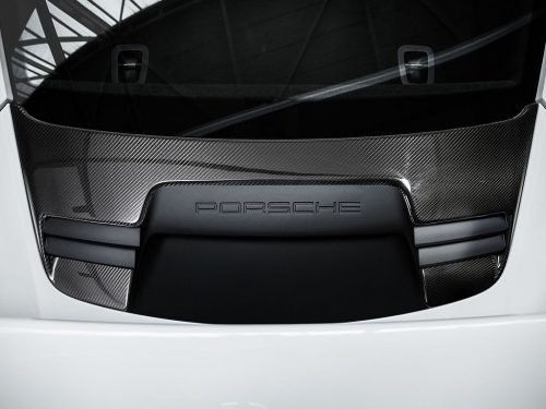 TECHART 991 GT3 RS carbon fiber rear lid