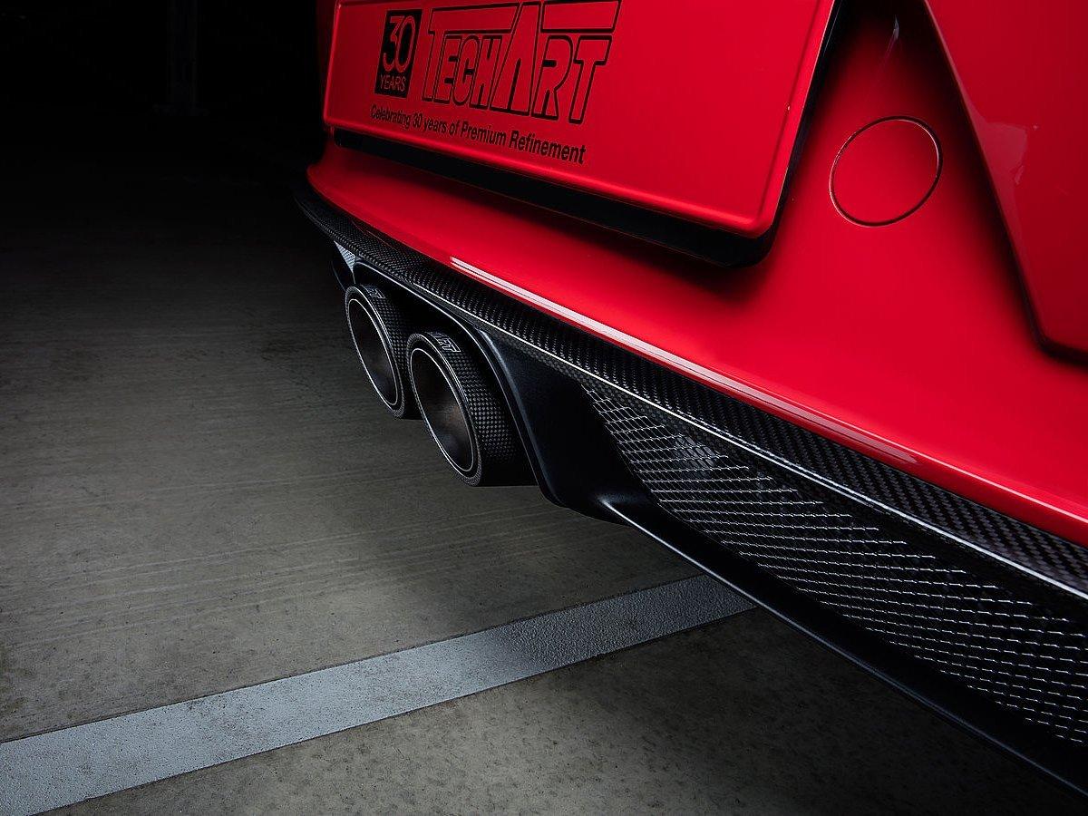 TECHART 991.2 GT3 carbon fiber diffuser