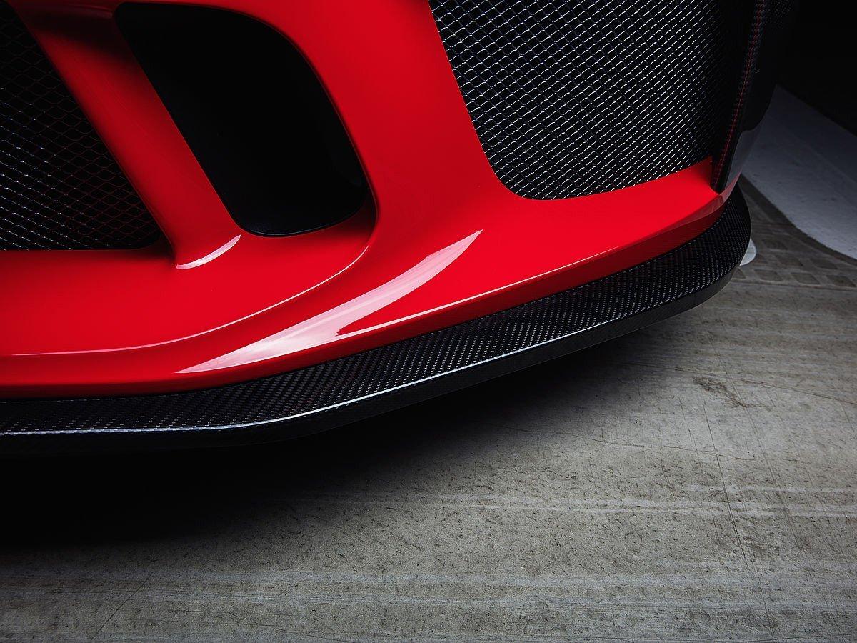 TECHART 991.2 GT3 carbon fiber front spoiler