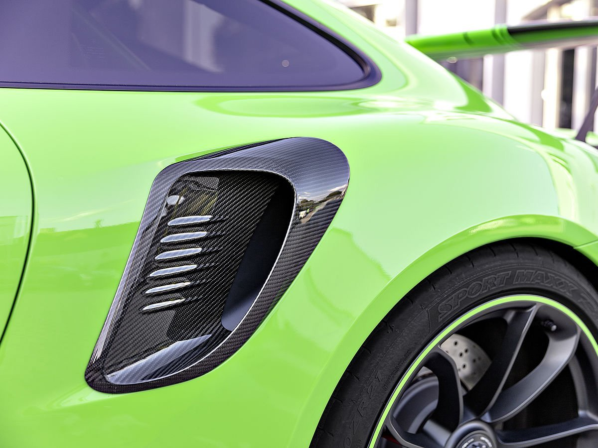 TECHART 991.2 GT3 RS carbon fiber side inlet