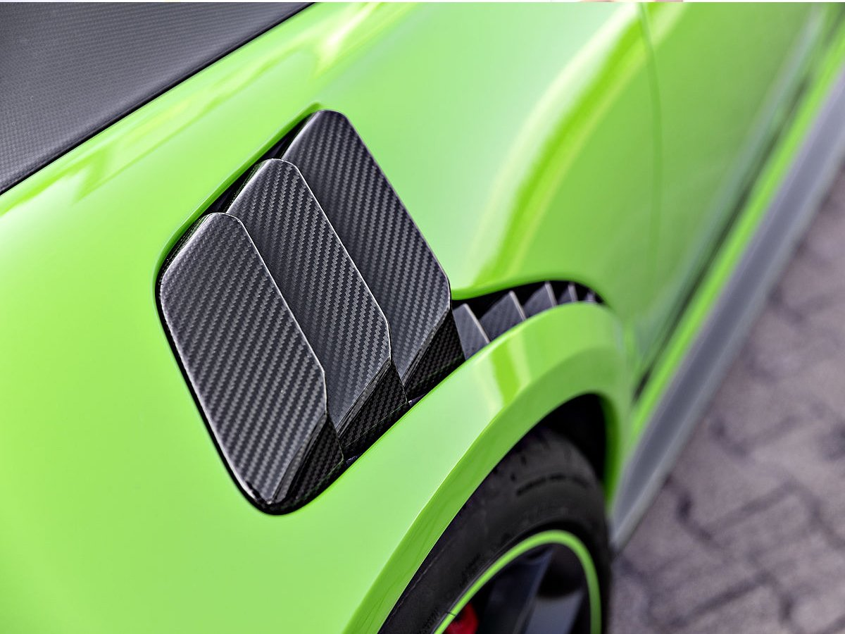 TECHART 991.2 GT3 RS carbon fiber louvers
