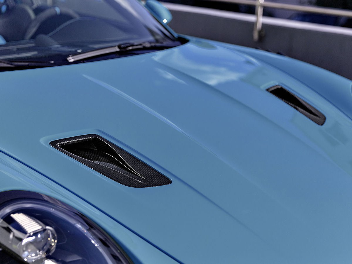 TECHART 991.2 GT3 RS carbon fiber NACA inlets