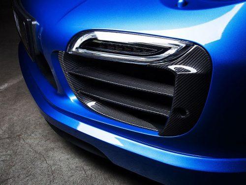 TECHART carbon fiber grille bars 991 Turbo
