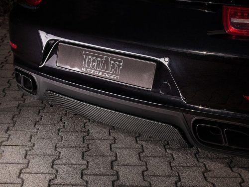TECHART carbon fiber rear diffuser 991 Turbo