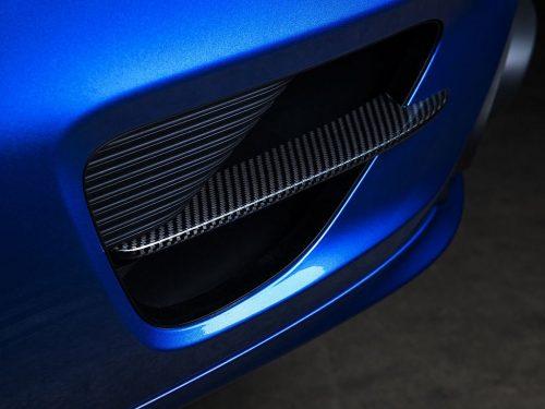 TECHART carbon fiber rear apron louver 991 Turbo