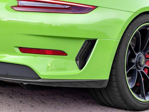 TECHART 991.2 GT3 RS carbon fiber rear bumper inserts
