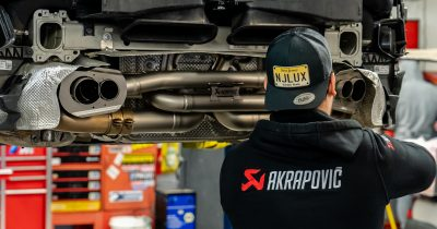 Akrapovic's 992 Carrera Titanium Exhaust Installed & on the Track (Video)
