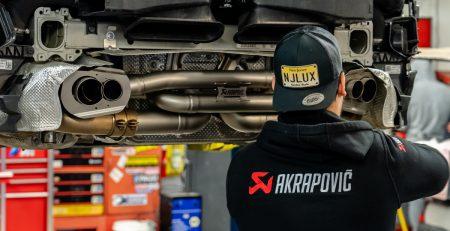 Akrapovic's 992 Carrera Titanium Exhaust Installed & on the Track (Video)
