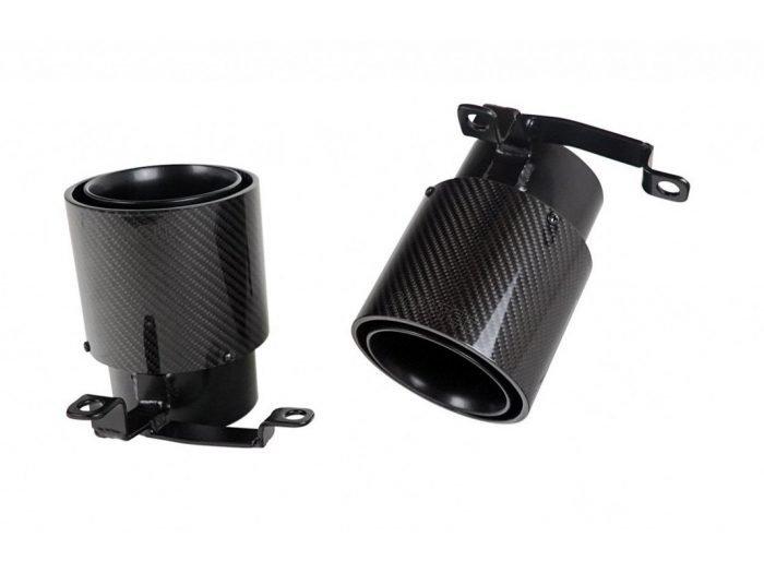 NOVITEC carbon exhaust tips - Huracan EVO - L1 222 80/85