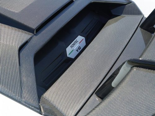 NOVITEC carbon fiber bonnet cover - Huracan EVO - L6 222 43