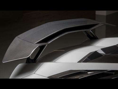 NOVITEC Aventador Double Carbon Fiber Rear Wing - L6 111 09