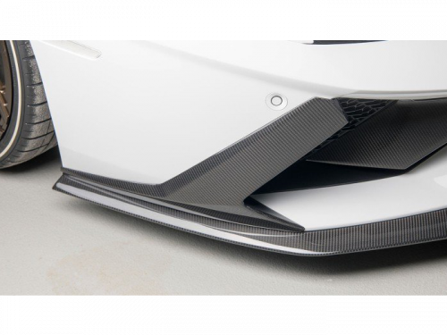 NOVITEC Aventador S carbon fiber front spoiler lip - L6 111 66