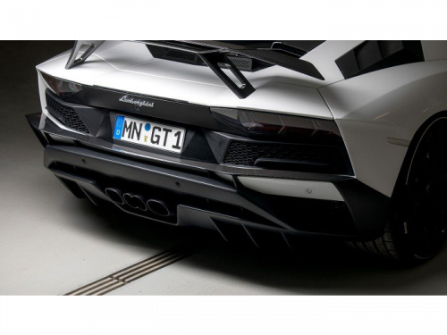 NOVITEC Aventador S carbon fiber rear bumper attachment - L6 111 61