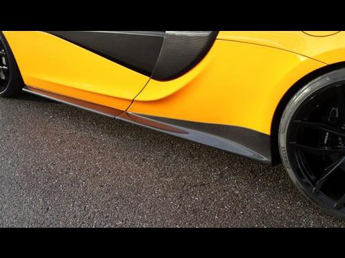 NOVITEC McLaren 570S carbon fiber side panels - C6 570 11