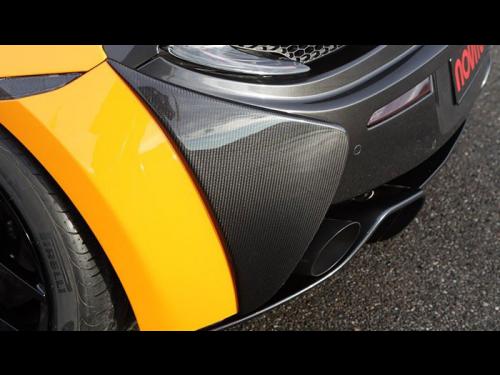 NOVITEC McLaren 570S carbon fiber rear bumper cover - C6 570 14