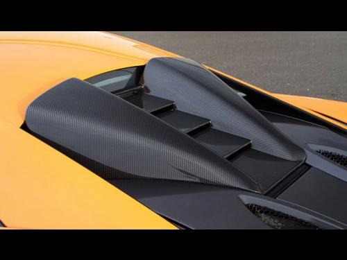 NOVITEC McLaren 570S carbon fiber air intake - C6 570 17