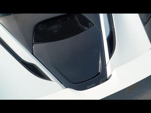 NOVITEC McLaren 720S carbon fiber center air intake cover - C6 720 17