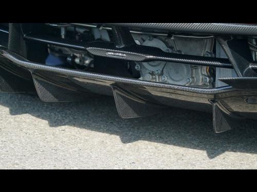 NOVITEC McLaren 720S carbon fiber diffusor fins - C6 720 22