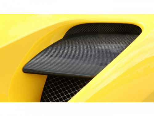 NOVITEC Ferrari 488 GTB - Sidewall Air Guide Cover - Torrent Motorworks