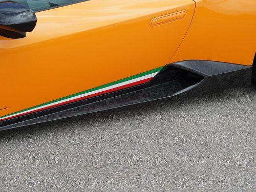 NOVITEC forged carbon fiber side panels - Huracan Performante - L6 222 62