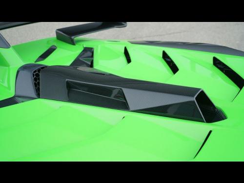 NOVITEC Aventador SVJ carbon fiber roof air guide - L6 111 93