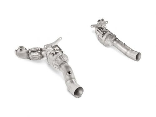 Akrapovic Link Pipe Set Ferrari 488 | L-FE/SS/1 | Torrent Motorworks