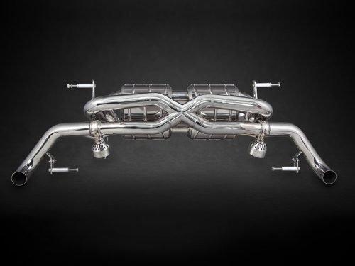 Capristo Valved X-Pipe Exhaust | Audi R8 V10 Gen 1 | Torrent Motorworks