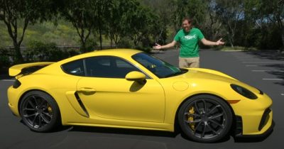 Doug Demuro reviews the 2020 Porsche Cayman GT4