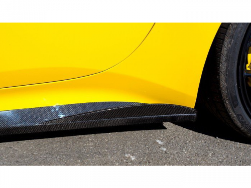 NOVITEC Ferrari California T carbon fiber side panel fins | Torrent Motorworks