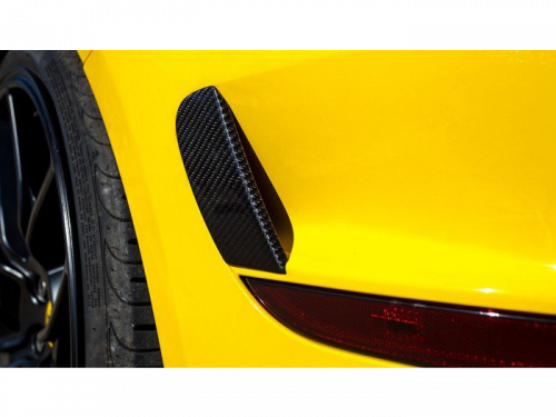 NOVITEC Ferrari California T carbon fiber rear bumper outlet covers | Torrent Motorworks