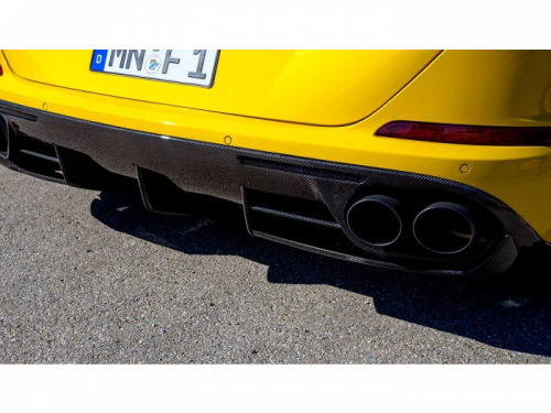 NOVITEC Ferrari California T carbon fiber rear bumper attachment | Torrent Motorworks