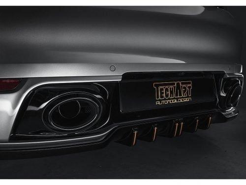 TECHART Rear Diffuser Add-On | 992 Carrera | Torrent Motorworks