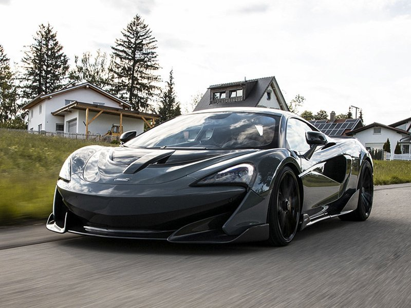 McLaren 600LT performance and service in New York
