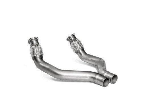 Akrapovic Link Pipe Set | Audi RS 7 (C7) | Torrent Motorworks