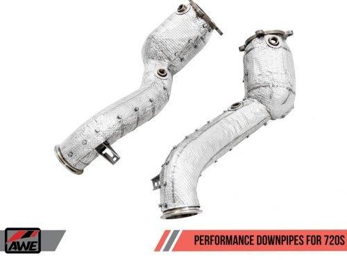 AWE Tuning McLaren 720S performance catalysts | Torrent Motorworks