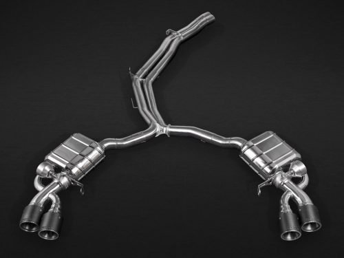 Capristo Valved Exhaust with Mid Pipes Audi RS 5 F5   Torrent Motorworks