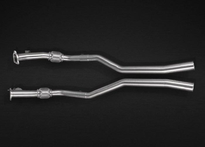 Capristo Audi RS 5 F5/B9 pre-silencer delete | Torrent Motorworks