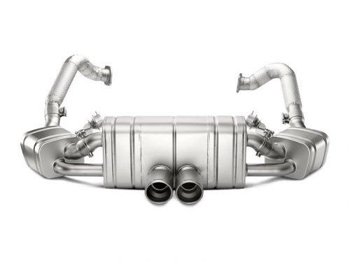 Akrapovic Slip-On Line exhaust 981 GT4/Spyder S-PO981SO2-HT | Torrent Motorworks