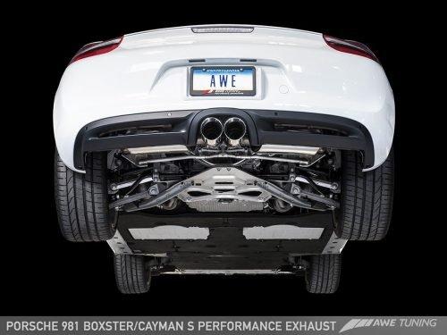 AWE Performance Exhaust 981 Porsche Cayman/Boxster | Torrent Motorworks